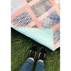 Modern Log Cabin meets Jelly Roll Race: Pattern review of Southern Charm Quilts' latest pattern, the good girl quilt. | The Wild Sweet Pea Quilt & Embroidery Co.