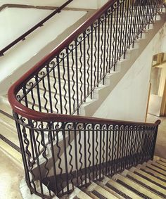 Staircase (No. 55 Ningguo Road) #shanghai #staircase #handrail #stairs #oldshanghai #ironwork #architecture