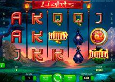 NetEnt videohedelmäpeli Lights vie sinut rauhalliselle tämaiselle laaksolle, jossa Fireflies paikka symboli korvaamalla Kertojan Symboli Aasian lyhty symboleja tässä zenmäisestä Netent Video kolikkopeli.