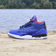 "Air Jordan 3 ""Incomparablue"" by JBF Customs"