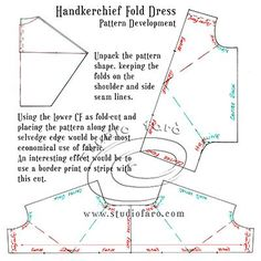 This is versatile! #PatternPuzzle - Handkerchief Fold Dress http://www.studiofaro.com/well-suited/pattern-puzzle-handkerchief-fold-dress?utm_content=buffer1a21c&utm_medium=social&utm_source=pinterest.com&utm_campaign=buffer Checkout the MAKER for this one - http://paper-doll-art.com/pattern-puzzle-handkerchief-fold-dress/?utm_content=buffer1955a&utm_medium=social&utm_source=pinterest.com&utm_campaign=buffer