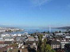 Genève depuis la cathédrale