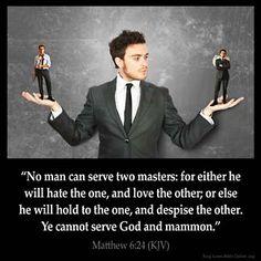 Inspirational Image for Matthew 6:24