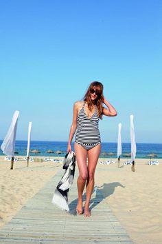 Porque na praia uma mamã também pode ser fashion