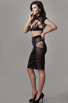 NADINE SKIRT Available from www.tatucouture.com