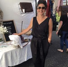 Toni is rocking The Jumpsuit in Black Organic Cotton Sateen 🖤🌻 Create the 'wow' with this gorgeous, wear all day jumpsuit. While it looks edgy and polished this is a Monday jumpsuit that feels like Sunday! Day Jumpsuits, Wow Products, Organic Cotton, Feels, Sunday, Create, How To Wear, Clothes, Black