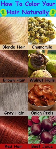 How to Color Your Hair Naturally