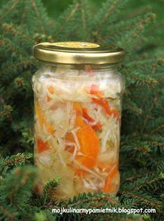 Bernika - mój kulinarny pamiętnik: Warzywne sałatki na zimę
