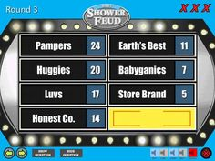 Baby BOY Shower Feud Family Feud Trivia Powerpoint Game   Etsy Baby Shower Questions, Baby Shower Games, Baby Boy Shower, Family Feud Game Questions, Family Games, How To Make Edits, Board Games, Game Boards, Powerpoint Games