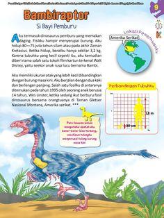 Buku Pintar Ensiklopedia Dinosaurus dan Binatang Purba Katabaca.com Muslim Quotes, Jurassic World, Peta, Dinosaurs, Studying, Knowledge, Bright, Education, Books