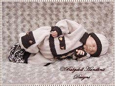 'On Safari' Boys Conjunto 16-22 pulgadas muñeca / recién nacido / 0-3m bebé-combate, bebé, renacer, traje