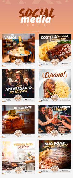 Social Media - Bueno Steak House on Behance