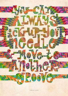 Move to another groove