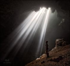 Jomblang cave on the Java island - null