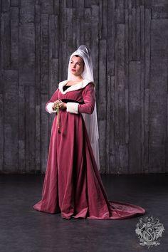 Burgundian gown, XV century