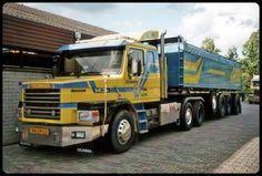 Scania T boggielift, 400 hp zand -Haulin loading Cool Trucks, Big Trucks, Sand And Gravel, Old King, Road Transport, Bus, Vintage Trucks, Classic Trucks, The Good Old Days