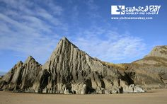 Spectacular coastal scenes in #Gower and #Swansea