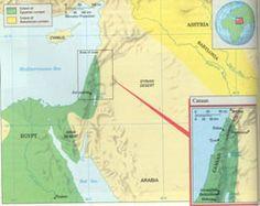 The Land of the Israelites, Geog Week 3