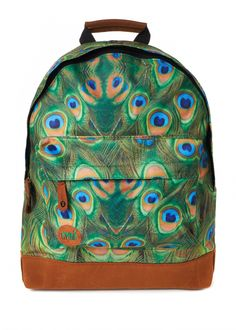 Mi-Pac Peacock Backpack Front