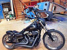 harley davidson dyna parts accessories Harley Davidson Custom Bike, Harley Davidson Chopper, Harley Davidson Street, Harley Davidson Sportster, Bobber Motorcycle, Bobber Chopper, Bobber Bikes, Custom Bobber, Custom Motorcycles