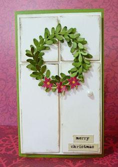 Quick and easy Christmas door