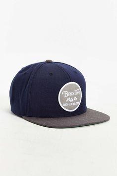 Brixton Wheeler Snapback Hat fc6e7c2bc3c8