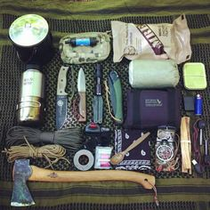 Bushcraft kit Más