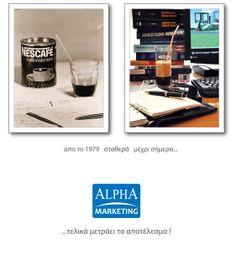 Alpha marketing through time...