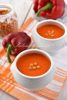 Soup Recipes, Cake Recipes, Dinner Recipes, Healthy Recipes, Healthy Food, Thai Red Curry, Cantaloupe, Food And Drink, Meals