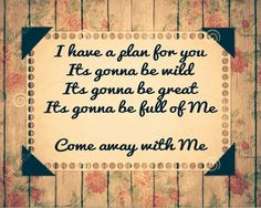Jesus culture, Come away with me