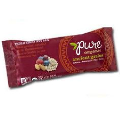 Pure Organic Triple Berry Nt Bar (12x1.23OZ )