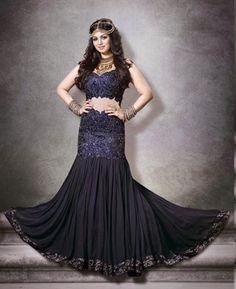 Buy Marvelous Navy Blue Bollywood Salwar Kameez [APRE8601] at $112.63