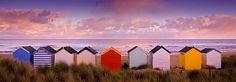 Home - Rod Edwards Photography Studio Spaces, Beach Huts, Beach Umbrella, Sea Art, Beach Scenes, Seaside, Britain, England, Cottage