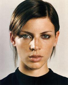 Give Us Liberty!photography richard kern styling anne marie creskeymodel liberty ross  nylon september 2002
