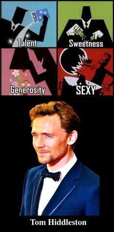 Tom Hiddleston..