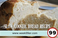 Slow Cooker Bread Recipe - Gluten Free!