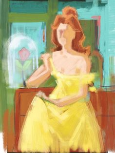 Belle Expressionist painting