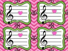 It's time to start thinking songs and activities for February!   I have students that are getting ready to identify lines and spaces AND I'v...