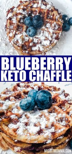 This Keto Blueberry Chaffle (aka a keto waffle!) Recipe is so fluffy and so tasty! Perfectly sweet, with juicy blueberries, these blueberry keto chaffles taste great all while being low carb and keto friendly. Source by midgetmomma diet Low Carb Desserts, Low Carb Recipes, Diet Recipes, Slimfast Recipes, Recipes Dinner, Dessert Recipes, Easter Recipes, Primal Recipes, Paleo Meals