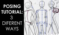 Posing Tutorial DIY: How to Draw Poses for your Characters