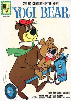 Yogi Bear Not Signed Silver Age Comics Hanna Barbera, Tv Vintage, Vintage Comic Books, Vintage Stuff, Classic Cartoon Characters, Favorite Cartoon Character, Vintage Cartoons, Vintage Comics, Classic Comics