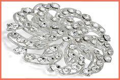 #Shop #online Crystal Fancy Vintage Style Brooch Pin for Women, girls, ladies