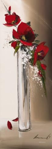 Hauteurs Florales I Print by Olivier Tramoni - AllPosters.ca