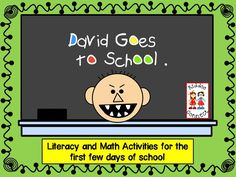 Beginning of the Year - David Goes to School from Kiddos Connect
