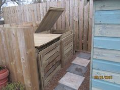 Our new compost bins courtesy of Wiggly Wigglers