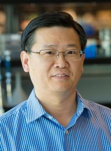 Yadong Huang, MD, PhD   Gladstone Institutes - Dr. Huang studies the origin and development of Alzheimer's disease, focusing on the pathological role of apolipoprotein E4 (apoE4)—the major genetic risk factor for Alzheimer's.