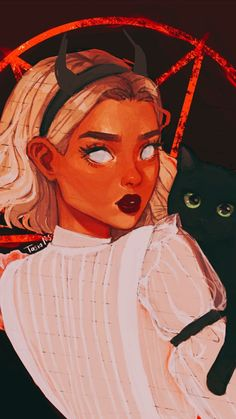 Character Aesthetic, Character Art, Witch Drawing, Witch Coven, Sabrina Spellman, Modern Witch, Arte Disney, Witch Art, Arte Horror