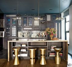 It might be impossible not to have hungry eyes when gazing at these celebrity kitchens!
