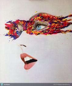 Color Eyes #Art #Touchtalent
