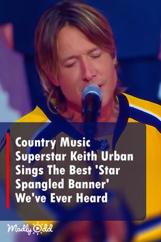 When it was announced that Keith Urban would be opening the game by singing the national anthem, the crowd erupted with excitement. #country #countrymusic #nationalanthem #song #singing #music #keithurban #patriotic #usa #us #hockey #sports